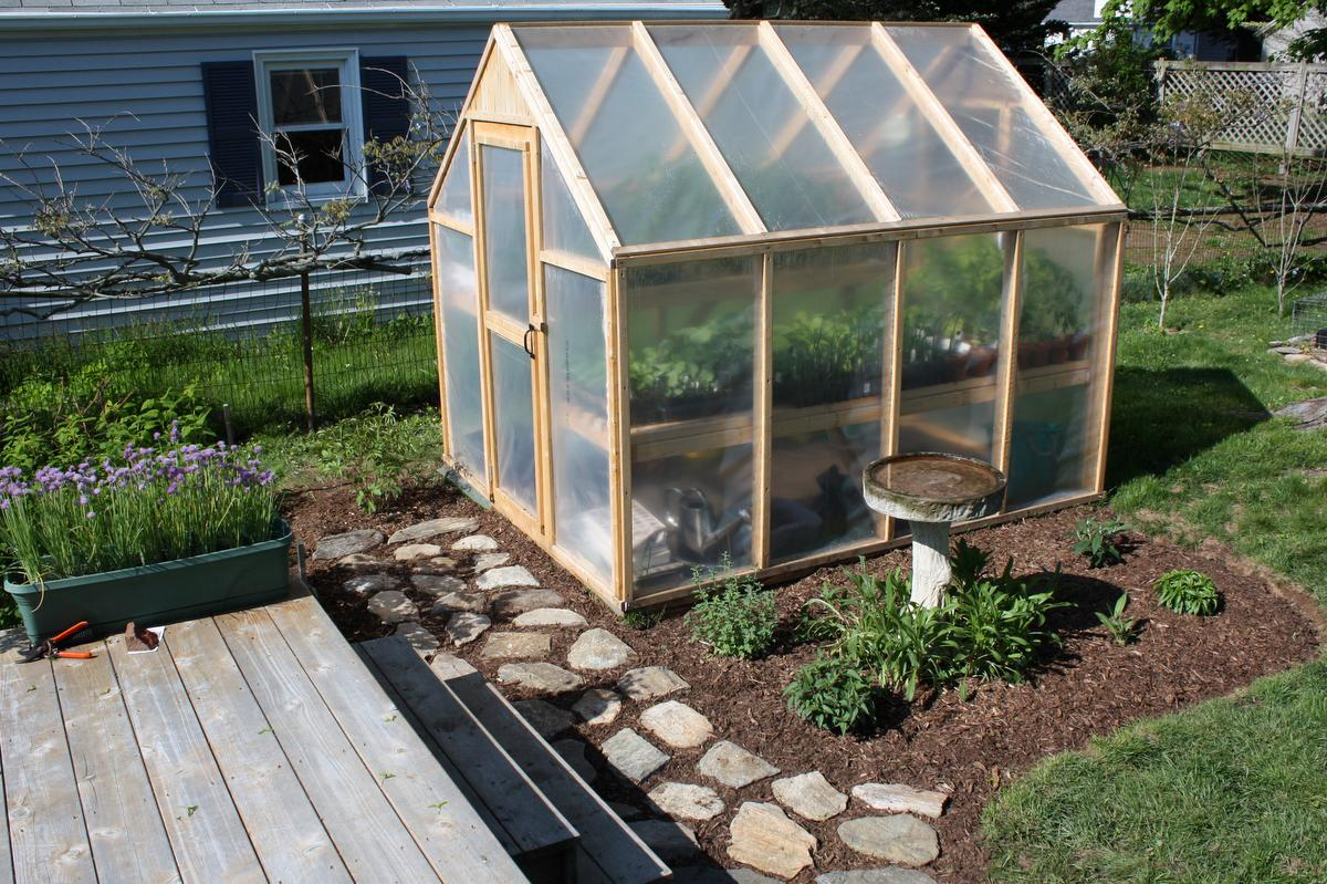 Image of: How To Make A Greenhouse Model
