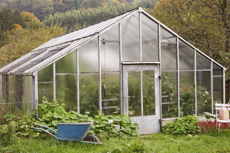 Image of: How To Make A Greenhouse Plans