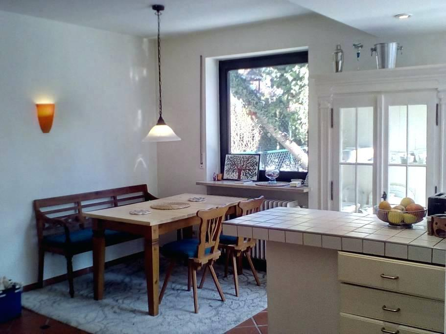 Image of: How To Separate A Living Room And Kitchen