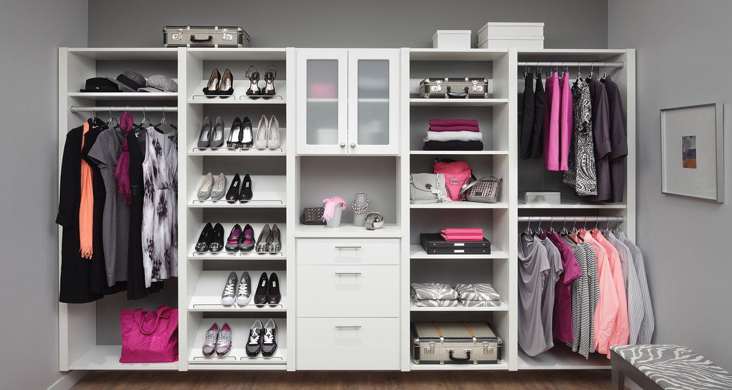 Image of: IKEA Storage Systems Bedroom
