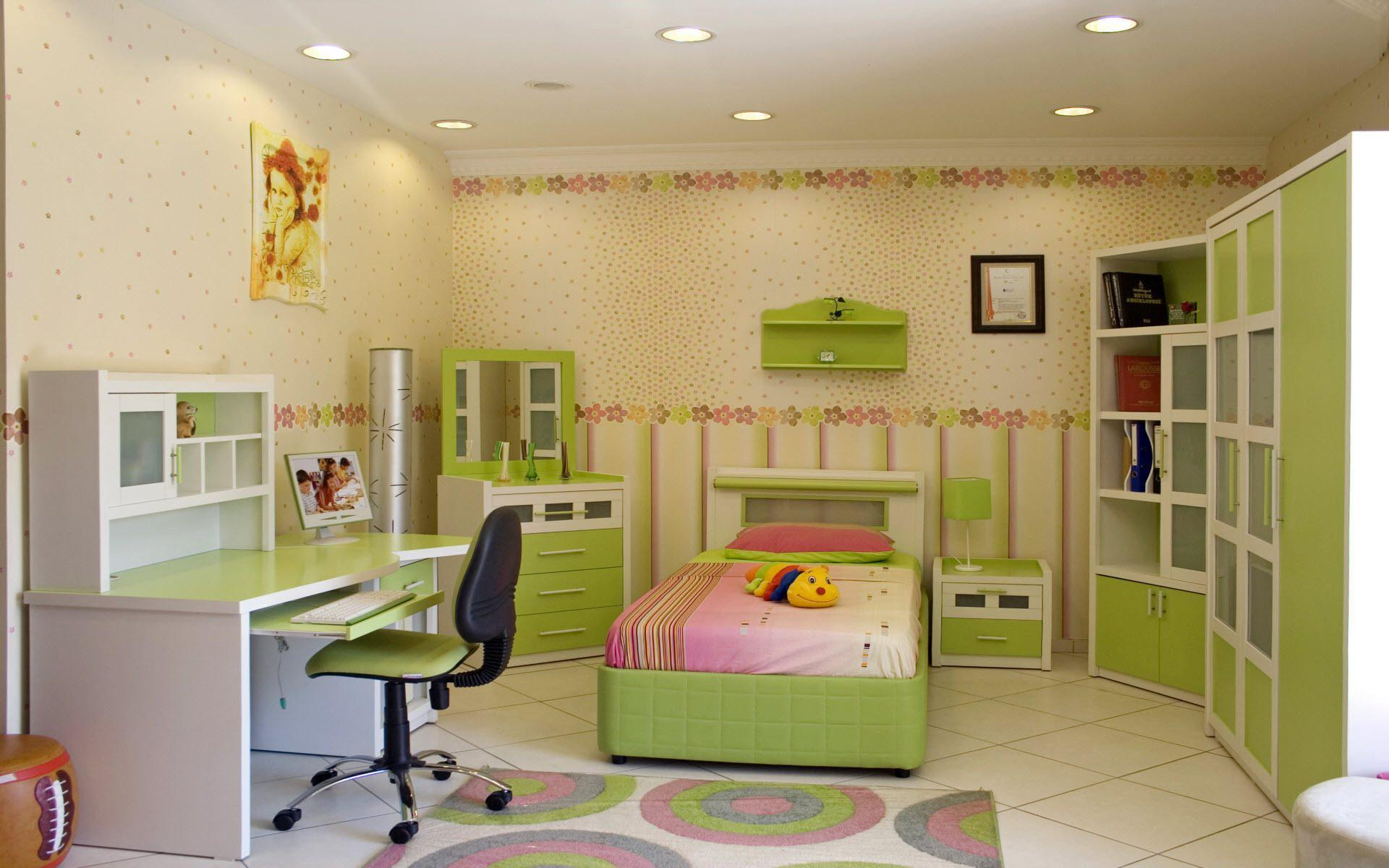 Image of: Ikea Kid Room Designs