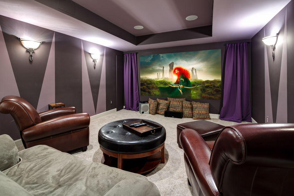 Image of: Images Of Home Movie Theaters