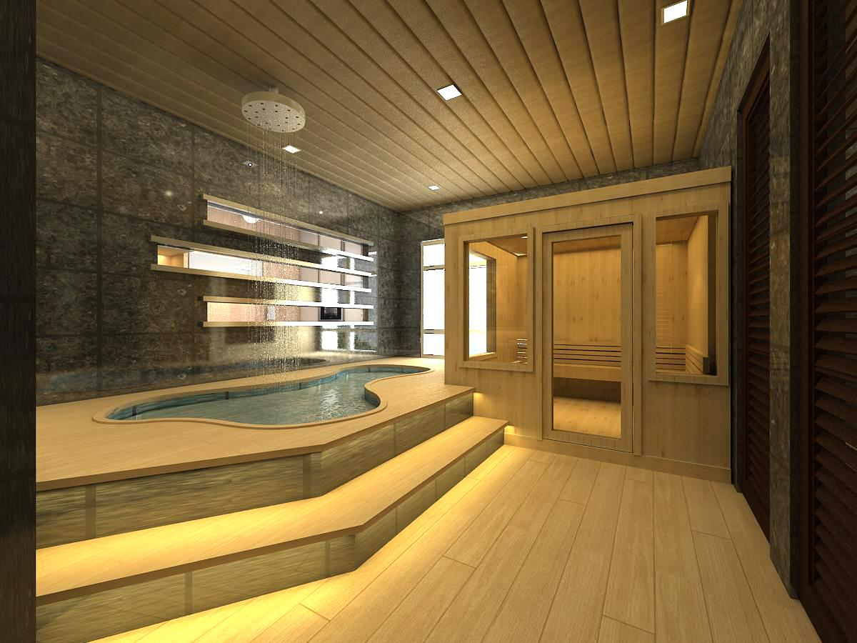 Image of: Indoor Sauna For Home