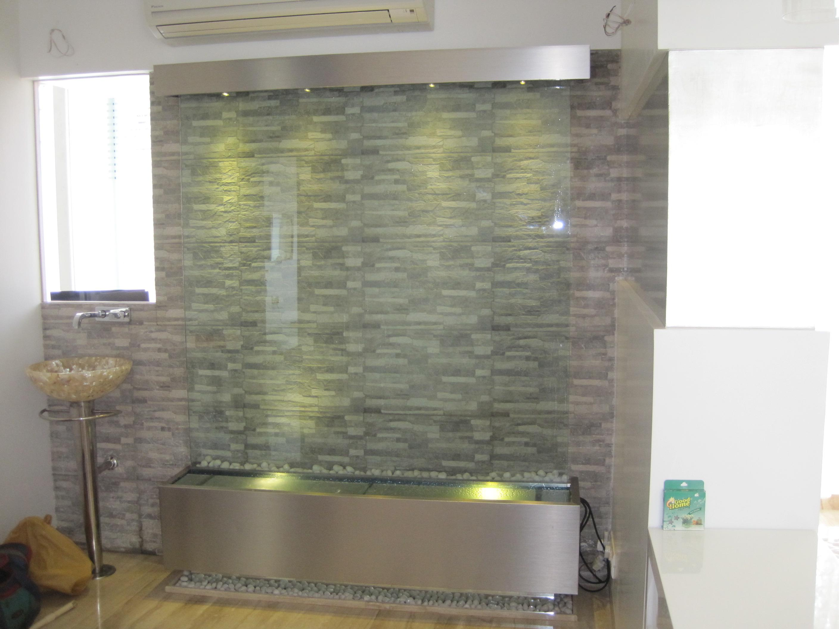 Image of: Indoor Wall Water Fountains For The Home
