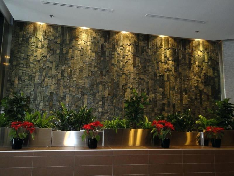 Image of: Indoor Wall Water Fountains