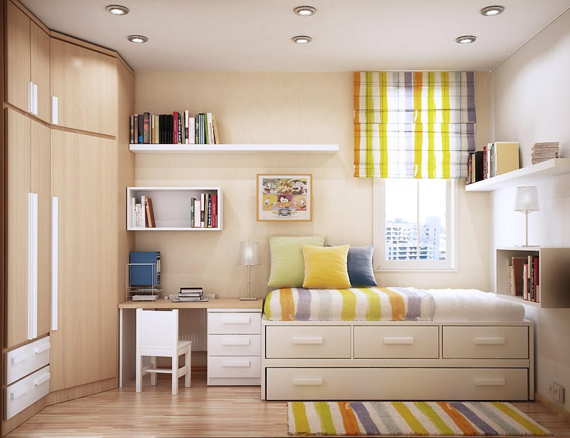 Image of: Interior Bedroom Ideas For Small Rooms