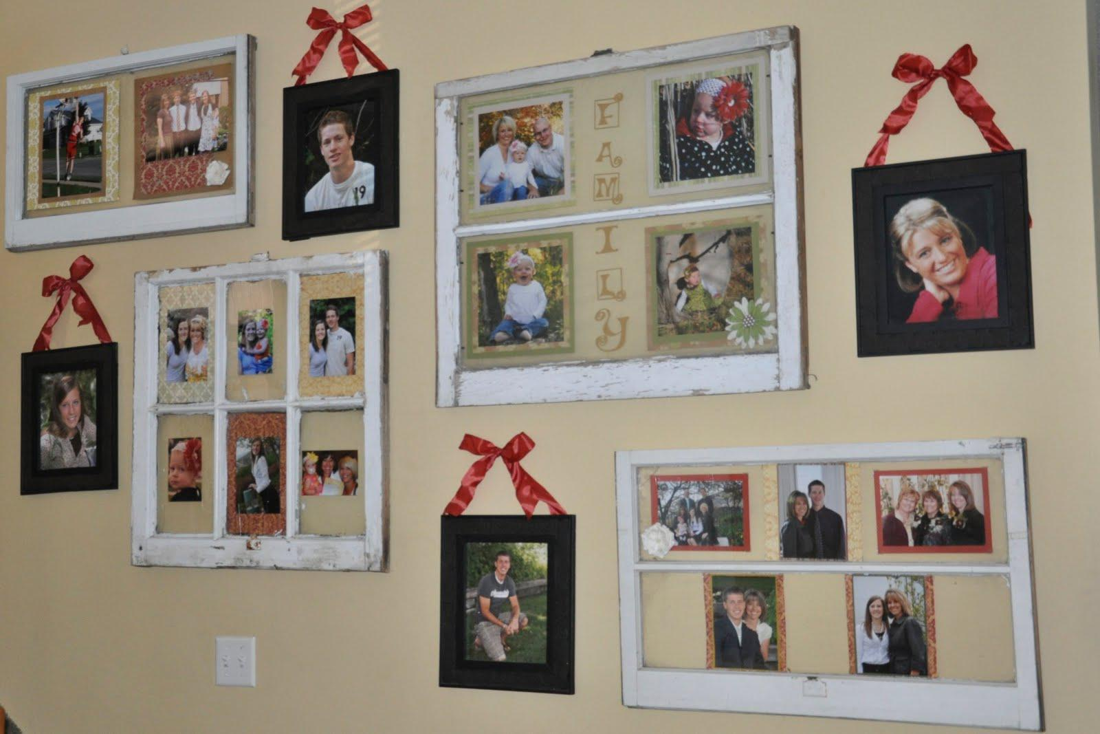 Image of: Interior Decorating With Family Photos
