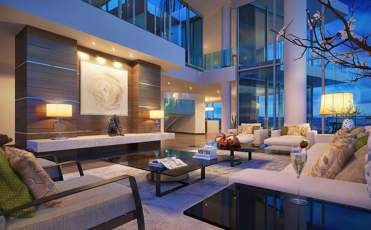 Image of: Interior Lighting Design For Living Room