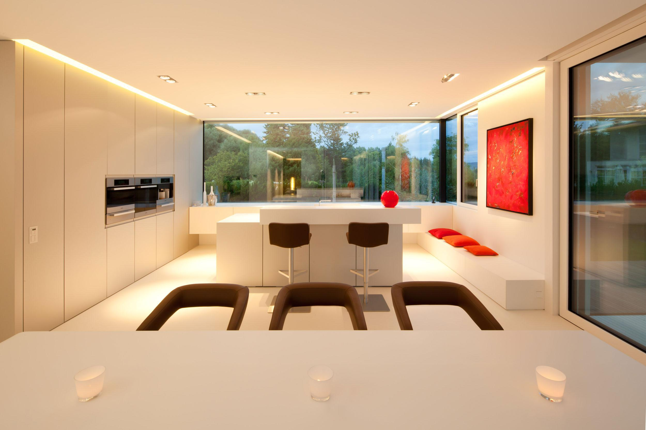 Image of: Interior Lighting Kitchen Design