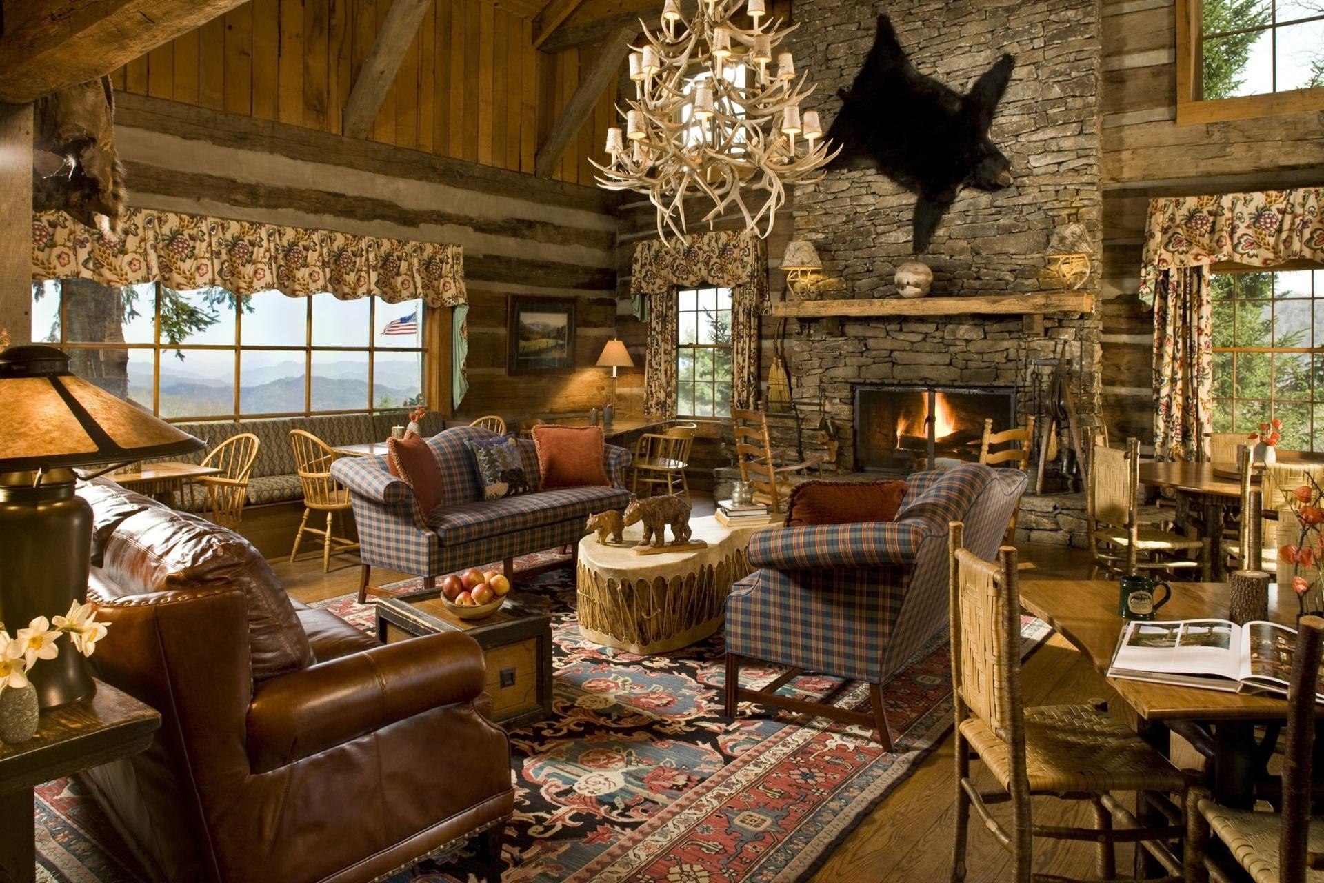 Image of: Interior Rustic Home Design