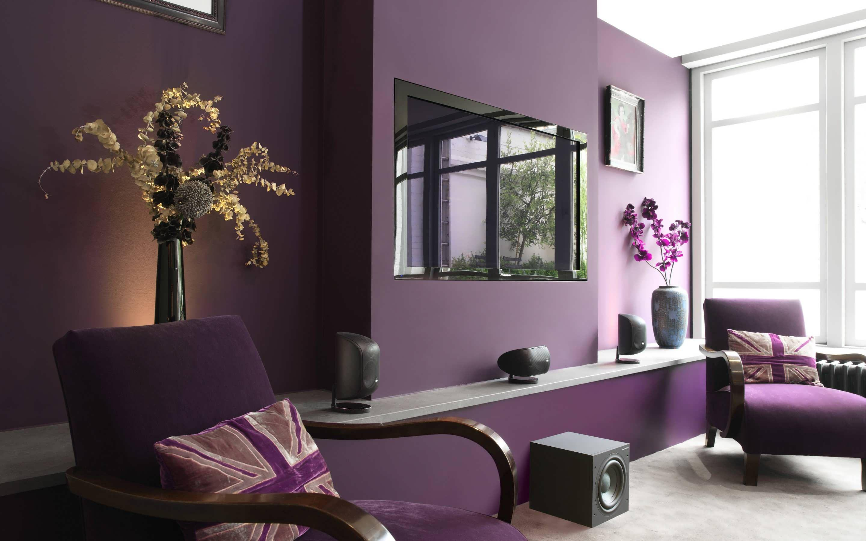 Image of: Interior Wall Colors For Dark Furniture
