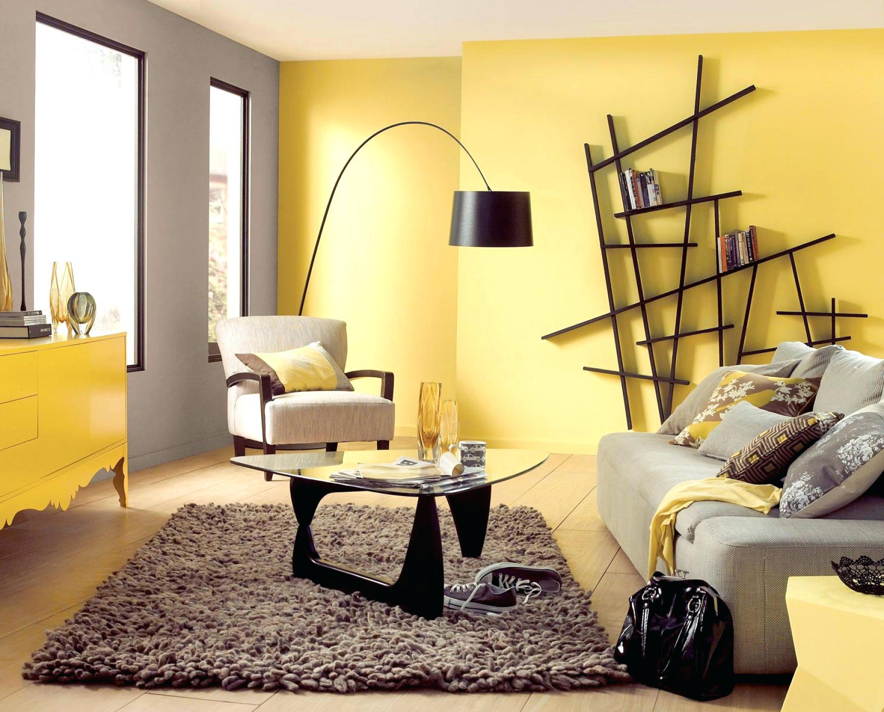 Image of: Interior Wall Colors Yellow