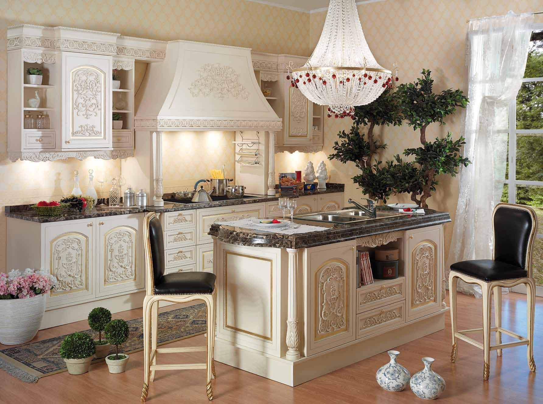 Image of: Italian Kitchen Interior Design