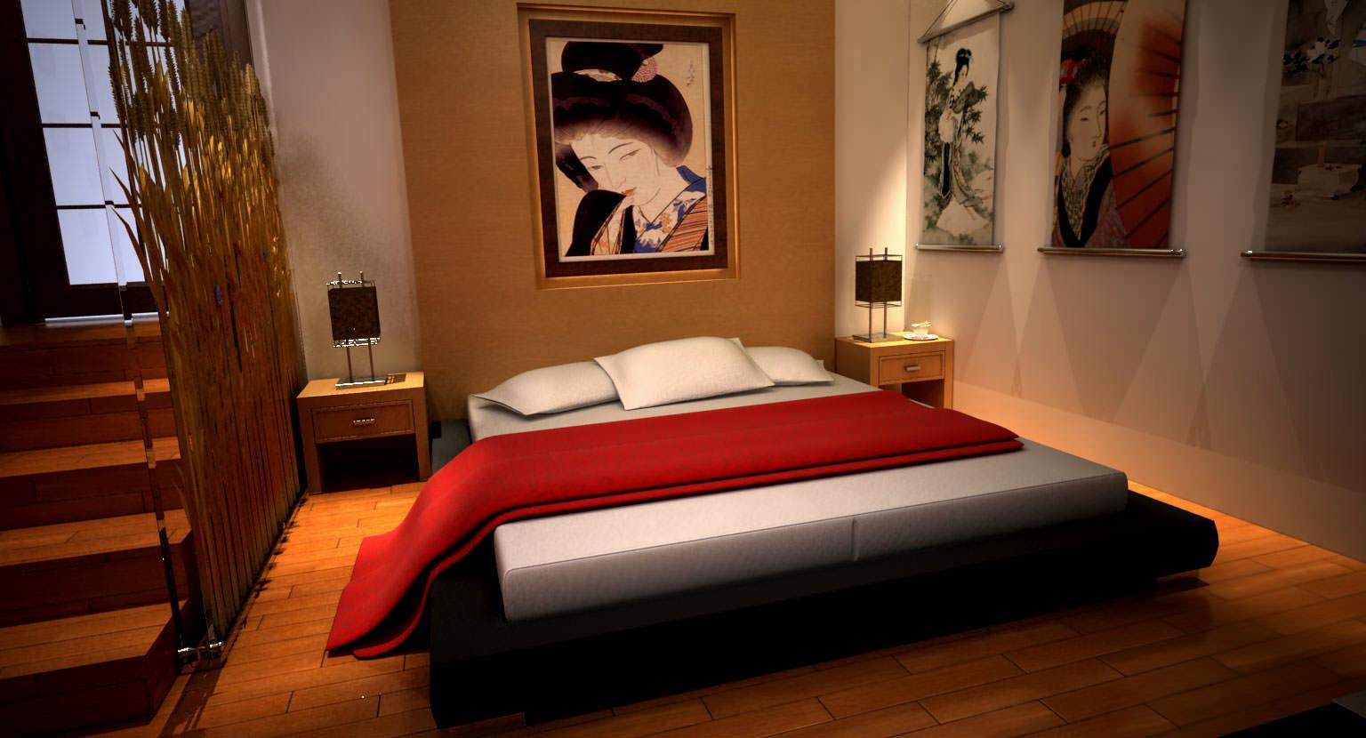 Image of: Japanese Bed Designs