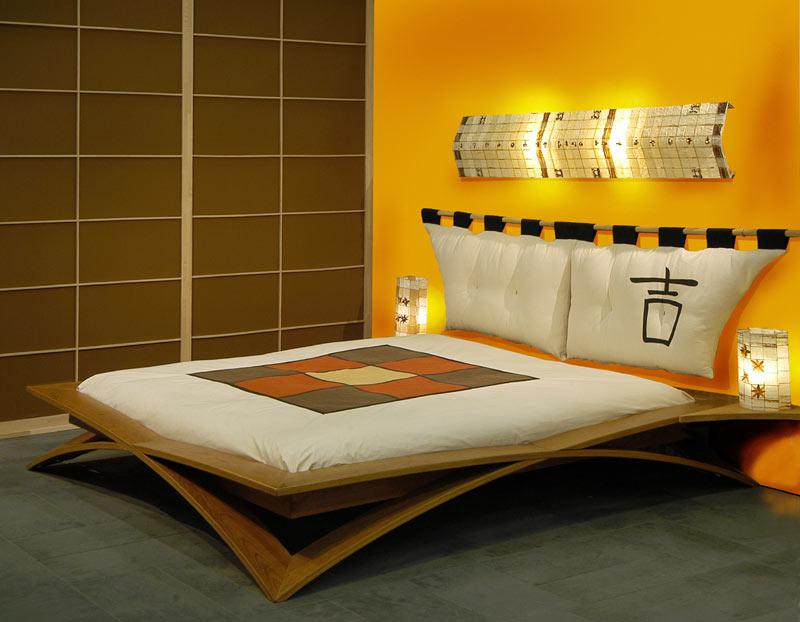 Image of: Japanese Bed Frame Designs