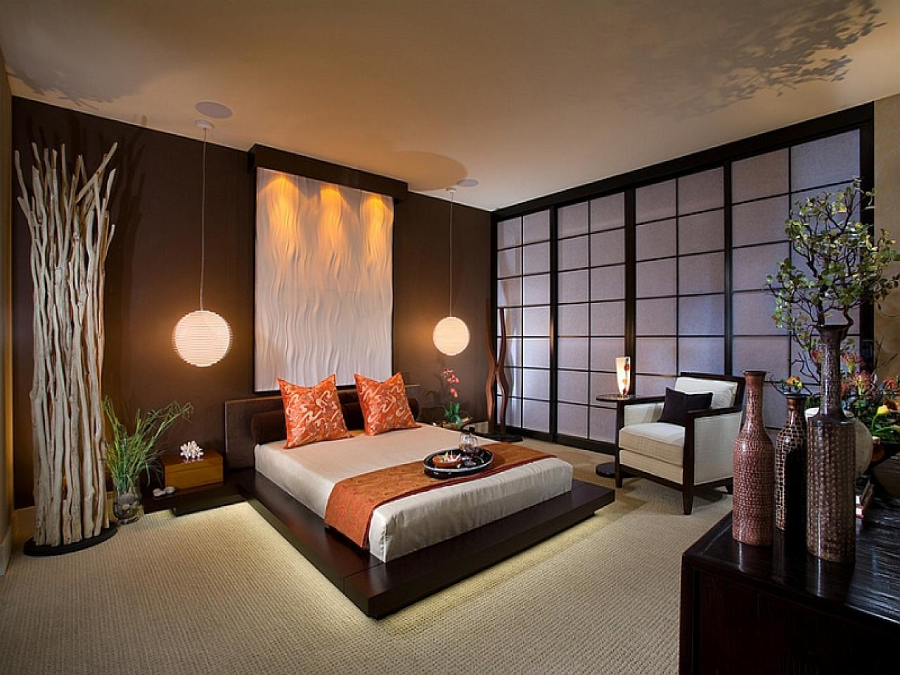 Image of: Japanese Bedroom Designs