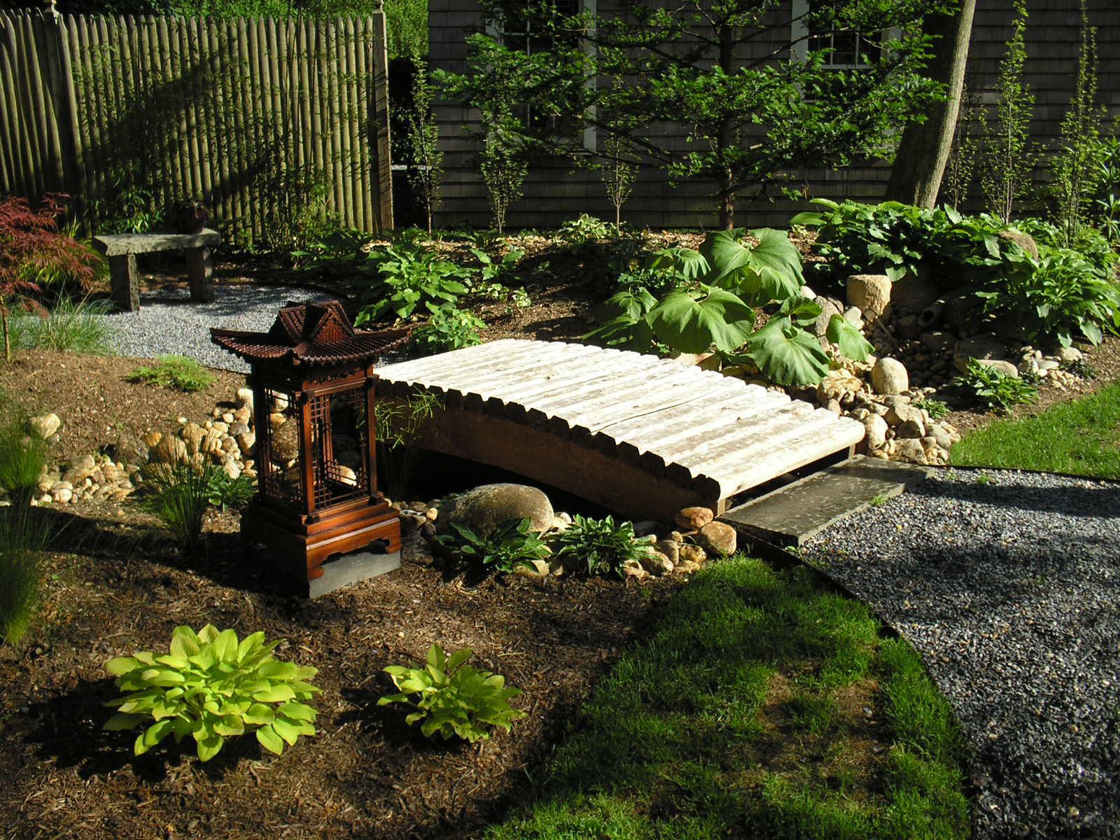 Image of: Japanese Garden Design For Small Areas