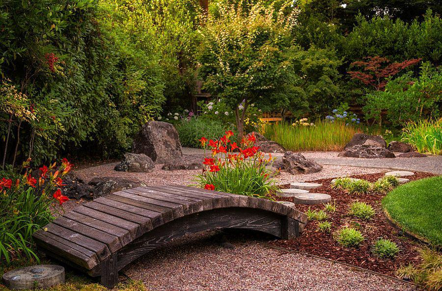 Image of: Japanese Style Small Garden Design