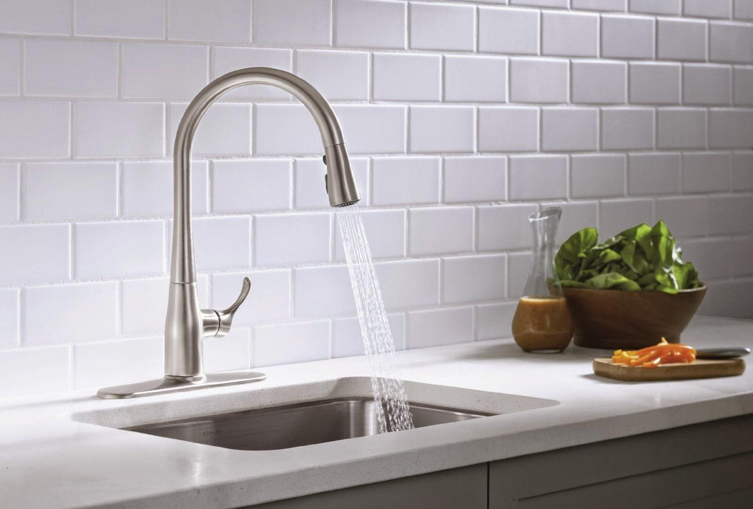 Image of: Kitchen Faucets Walmart