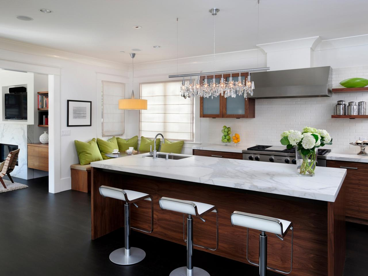 Image of: Kitchen Island Designs For Small Kitchens