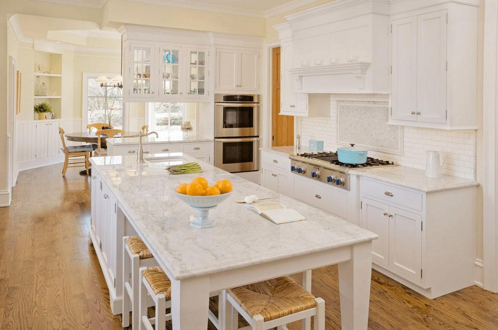 Image of: Kitchen Island With Seating and Storage