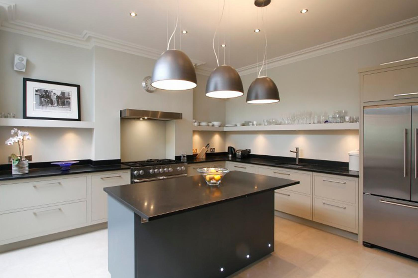 Image of: Kitchen Lighting Temperature