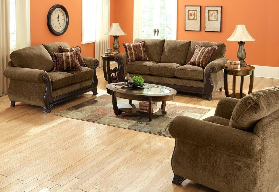 Image of: Light Brown Living Room Decor