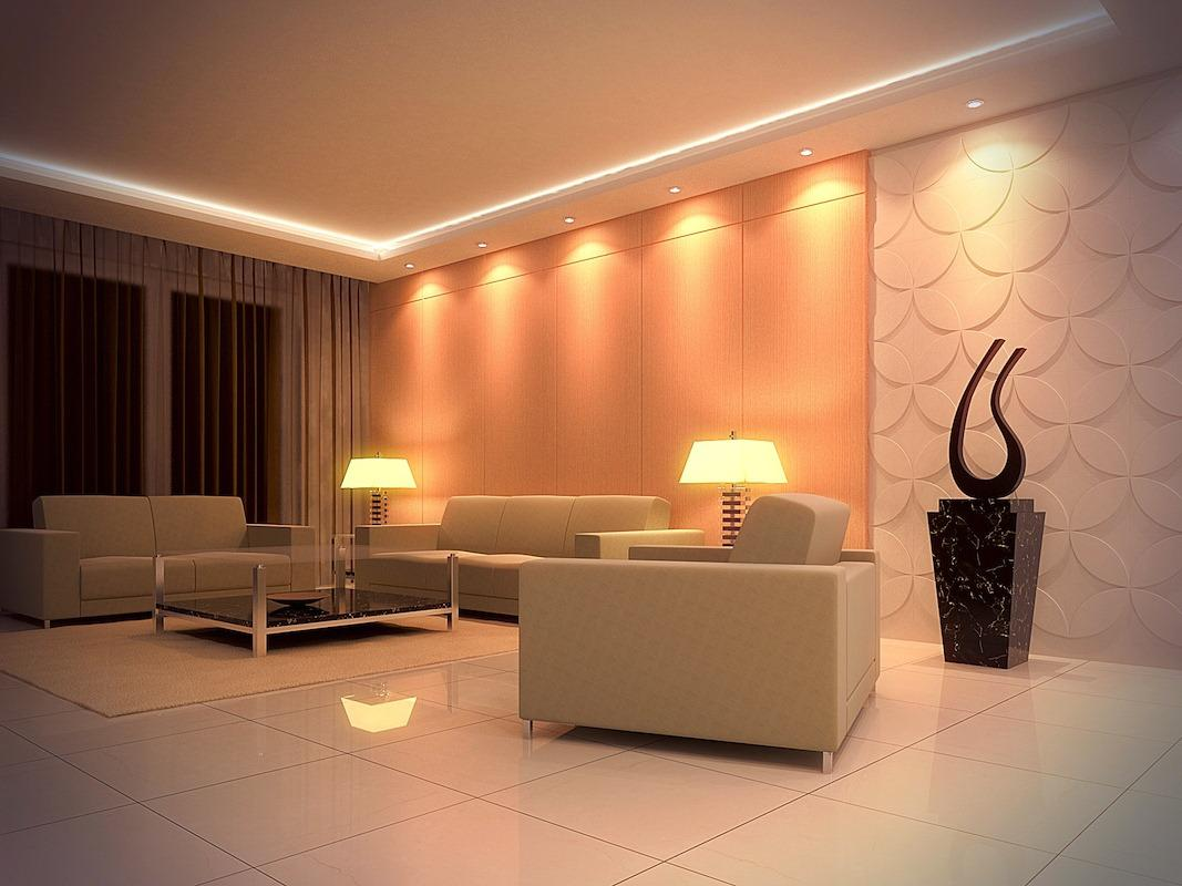 Image of: Living Room Lighting Fixtures