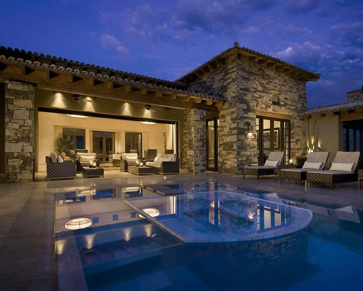 Image of: Luxury Modern Homes Design