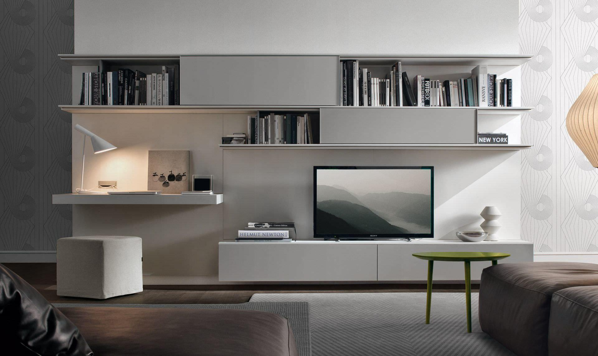 Image of: Media Wall Units Modern