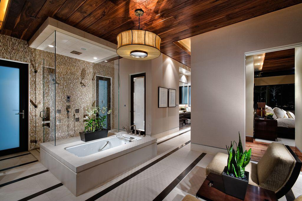 Image of: Modern Bathroom Interior