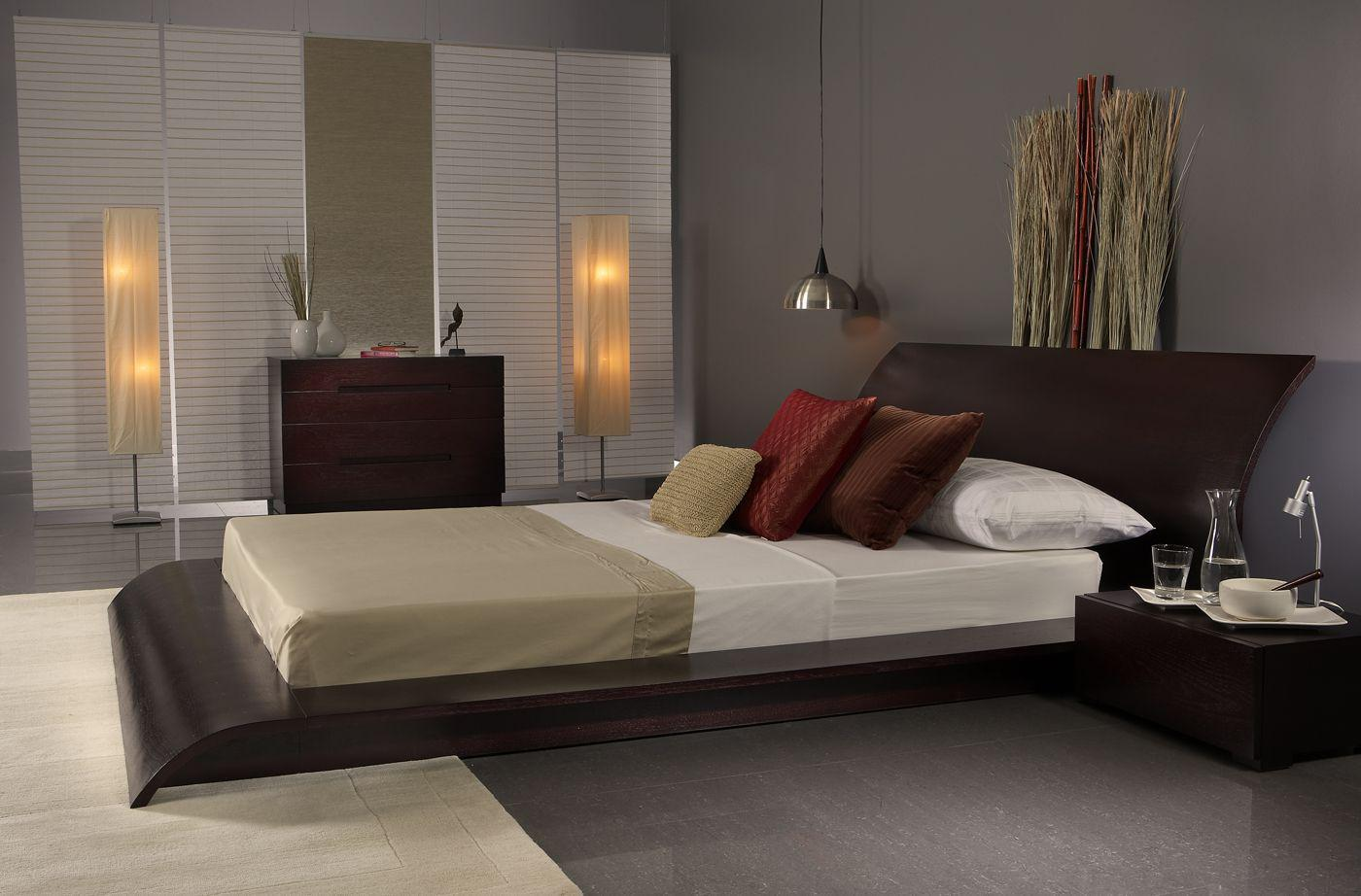 Image of: Modern Bed Designs In Wood