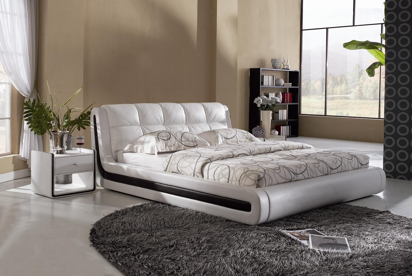 Image of: Modern Bed Designs