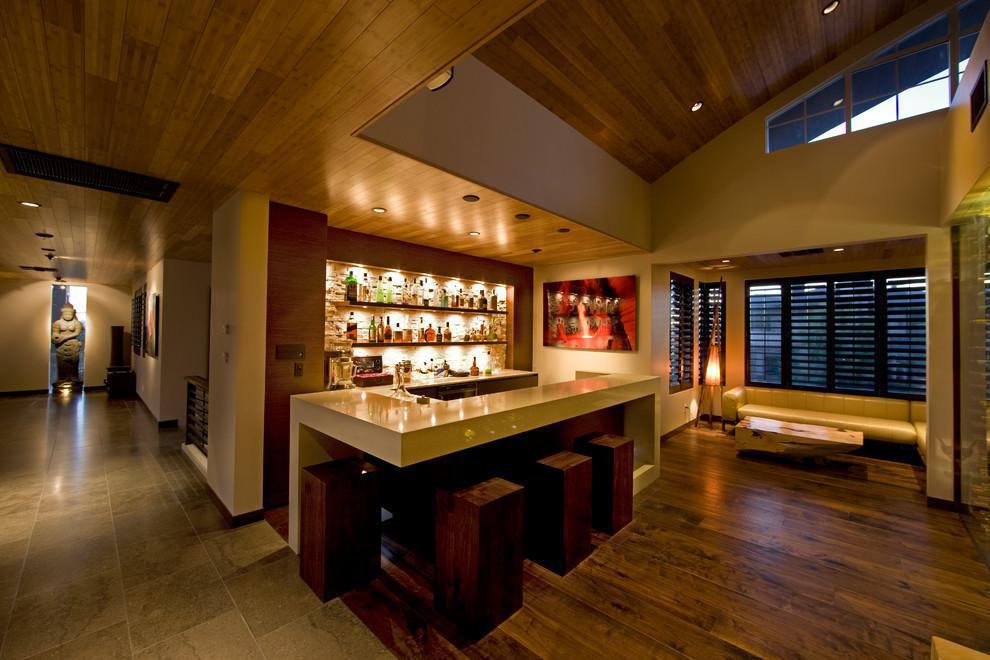 Image of: Modern Contemporary Home Bars