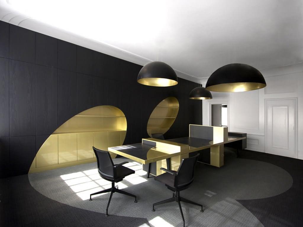 Image of: Modern Contemporary Office Interiors