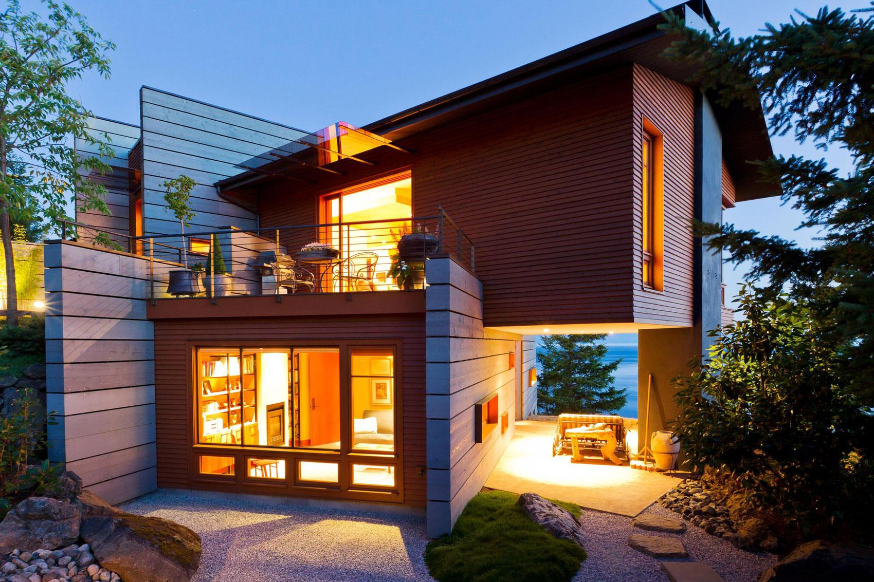 Image of: Modern Cottage Style House