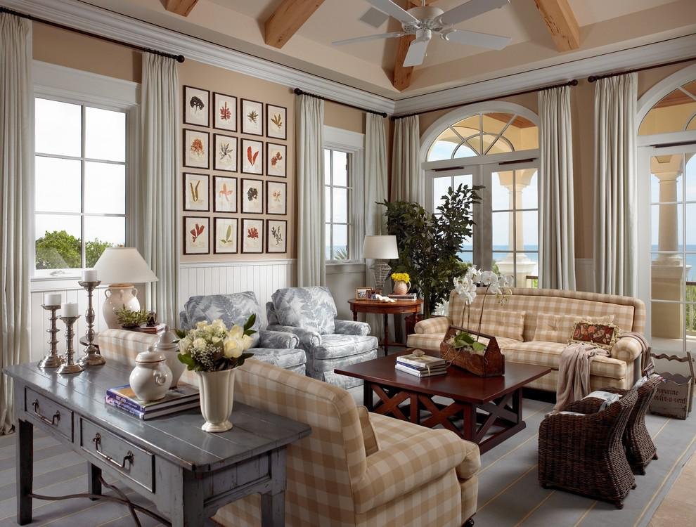 Image of: Modern Country Home Interiors
