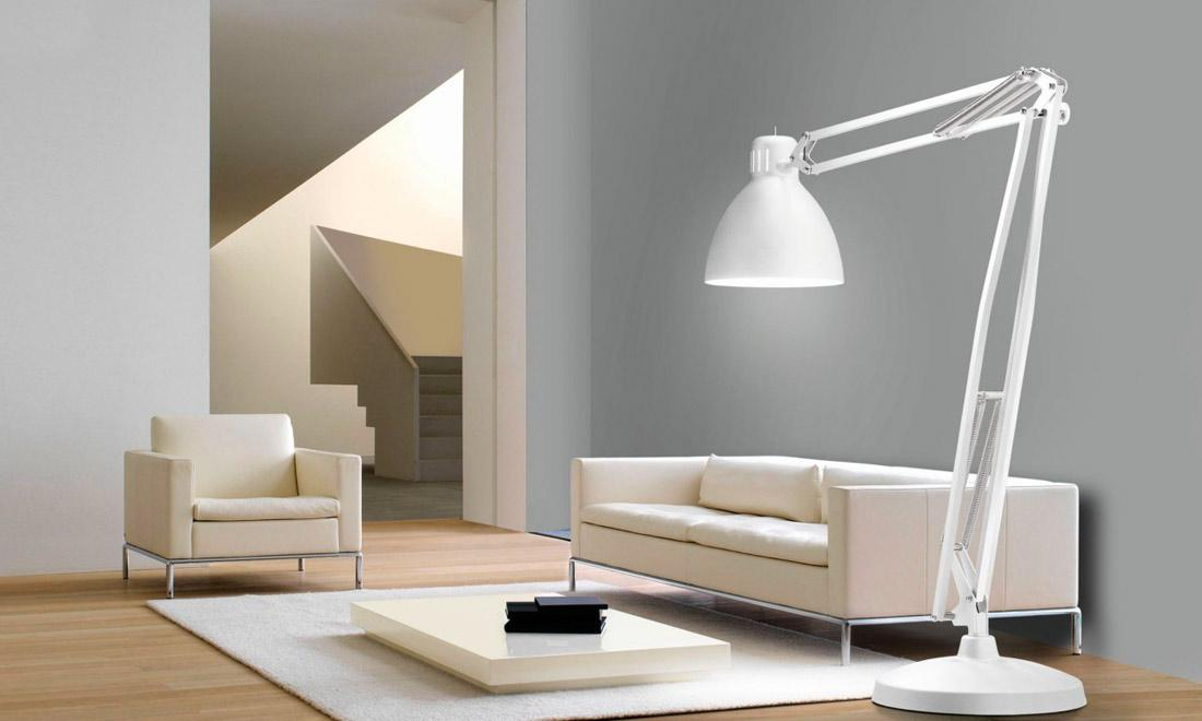 Image of: Modern Floor Lamp Lighting