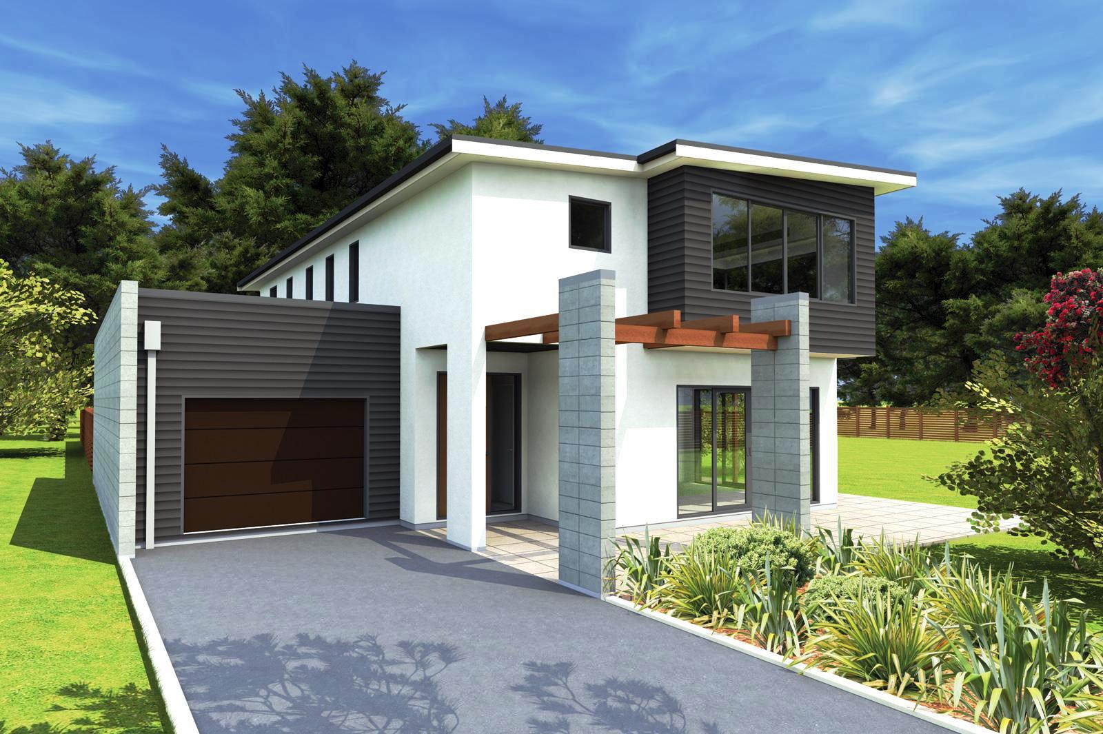 Image of: Modern House Plans With Pictures