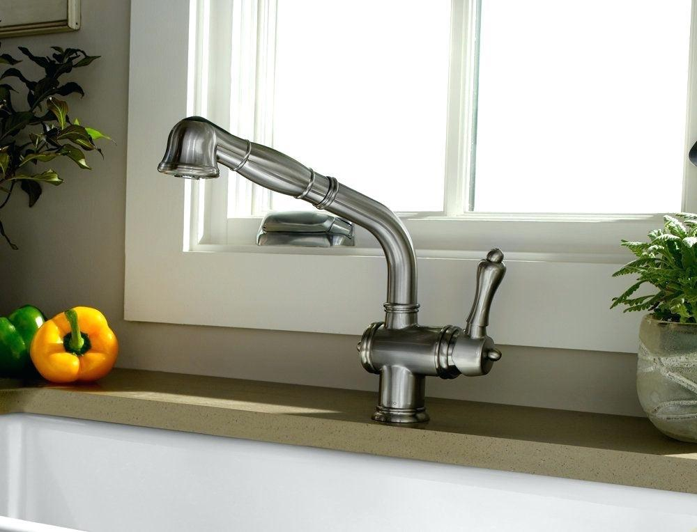 Image of: Modern Kitchen Sink Faucets