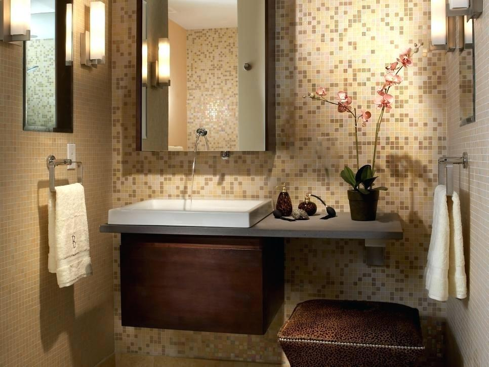 Image of: Modern Mosaic Bathroom Designs