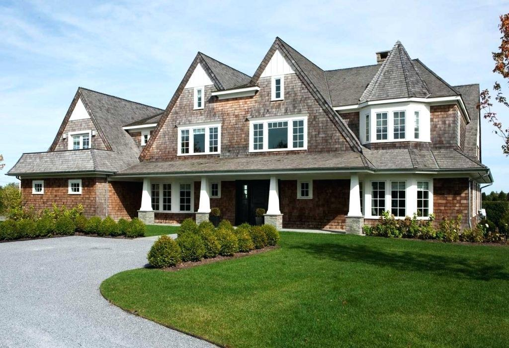Image of: Modern Shingle Style Homes