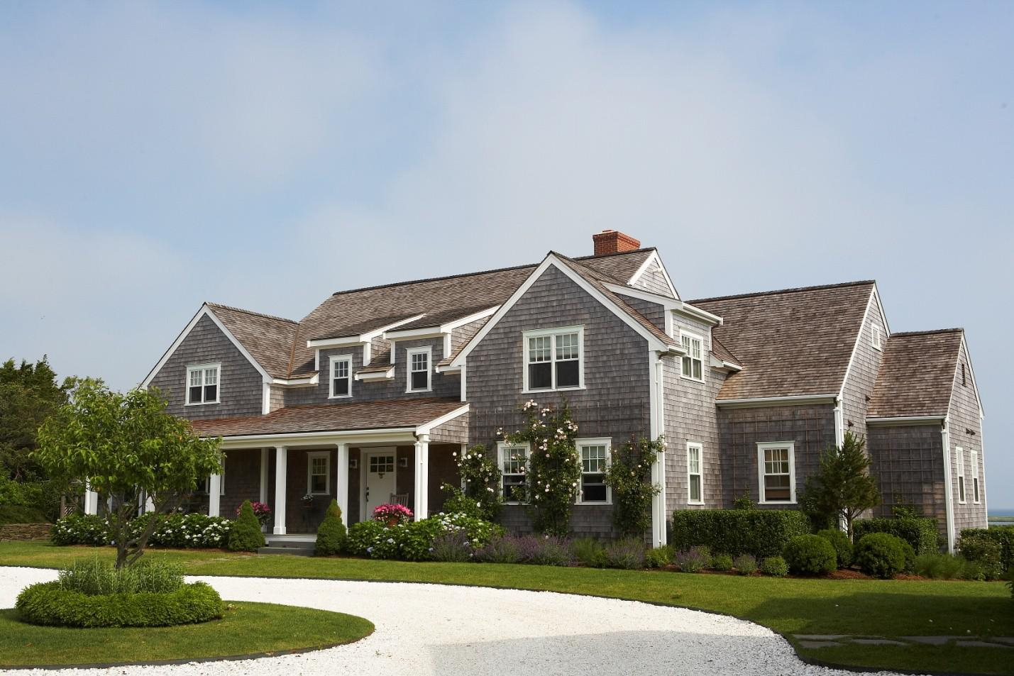 Image of: Modern Shingle Style House Plans