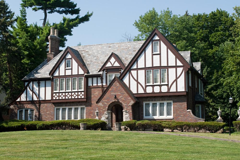 Image of: Modern Shingle Style House