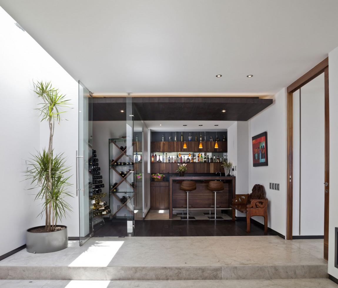 Image of: Modern Style Home Bars