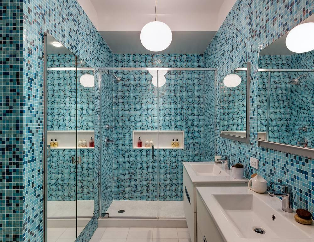 Image of: Mosaic Tile For Bathroom Wall Design