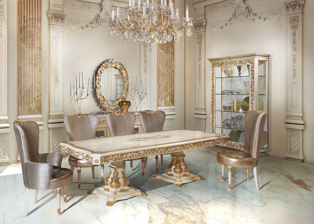 Image of: New Classic Dining Room Style