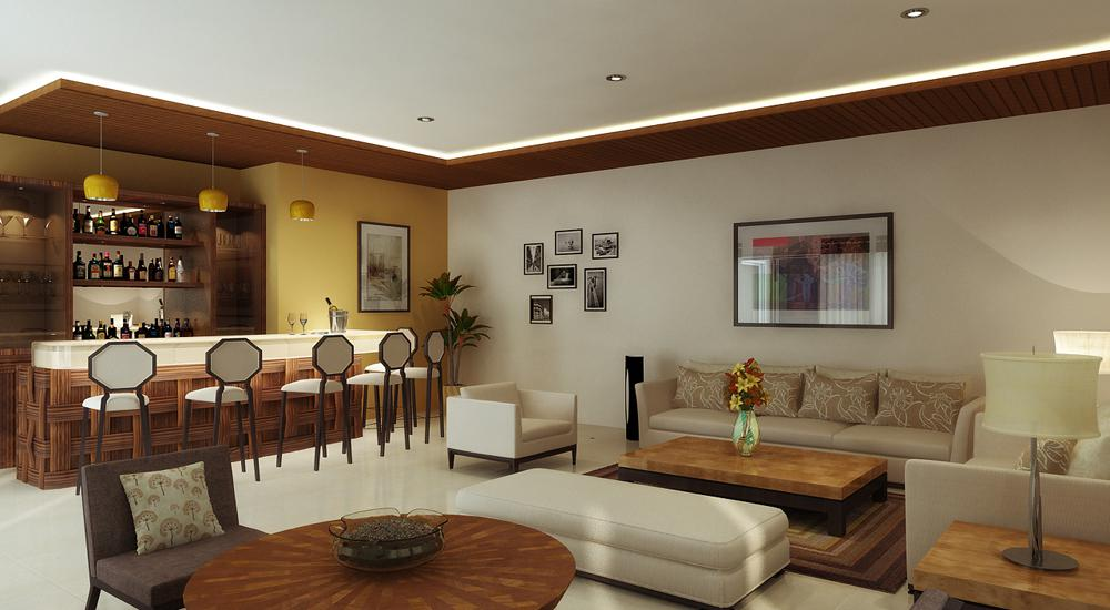 Image of: New Delhi Elegant Interior House Colors
