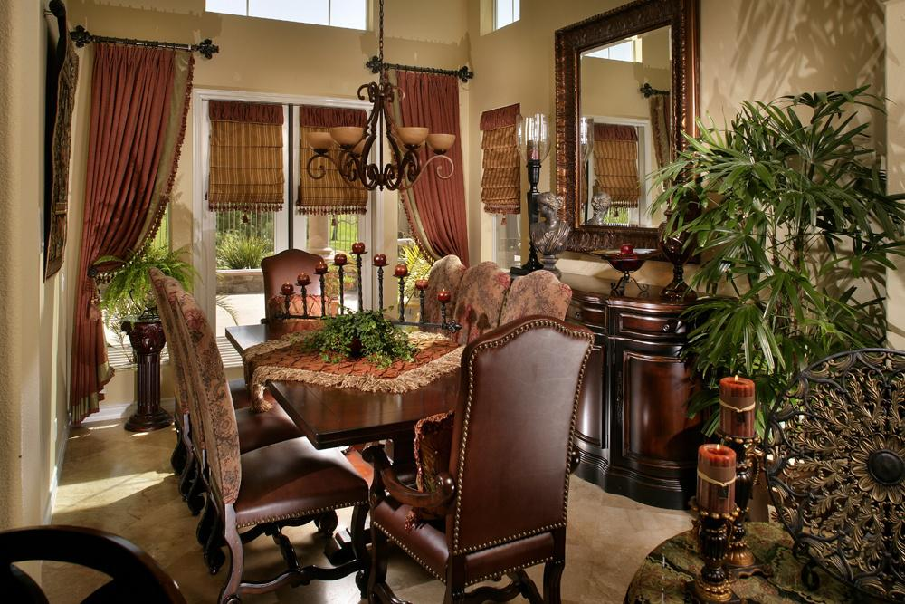 Image of: Old World Dining Room Decorating Ideas