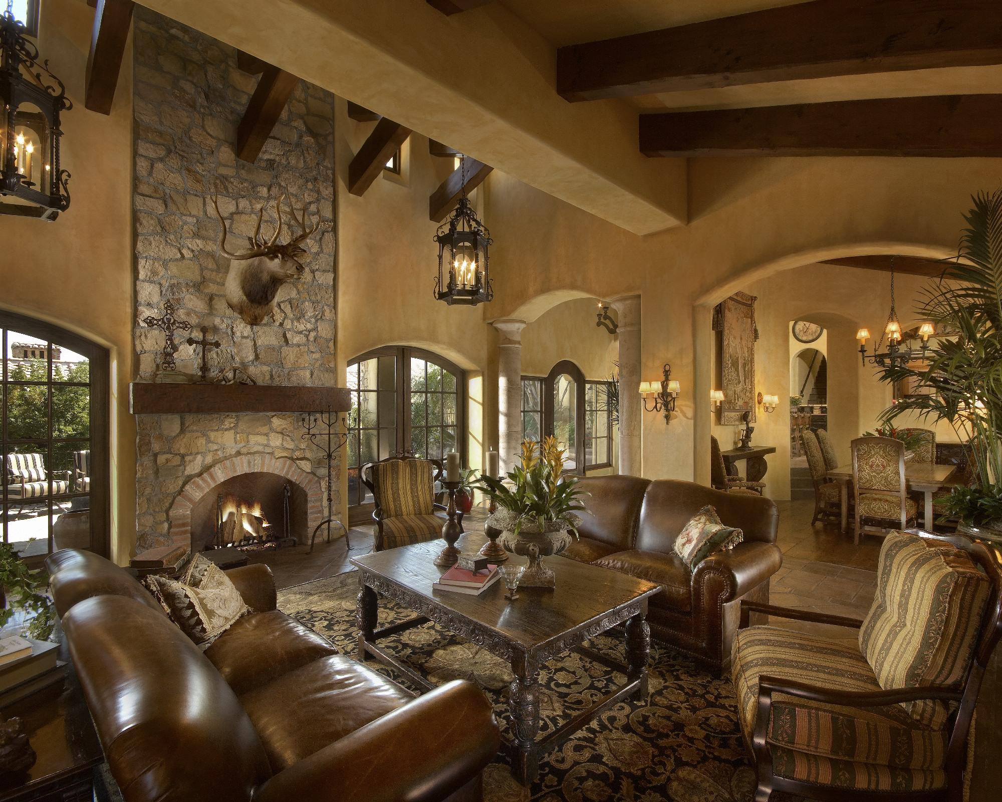 Image of: Old World Living Room Decorating Ideas